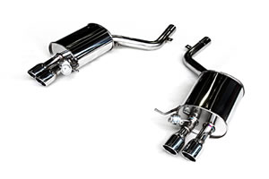 3D Design (3Dデザイン)BMW 5シリーズ F10 アクティブハイブリッド 5マフラー (4テール)