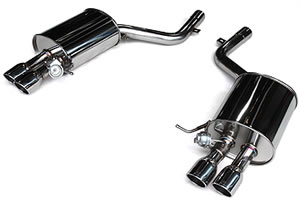 3D Design (3Dデザイン)BMW 5シリーズ F10 セダン (535i)マフラーセット (4テール)