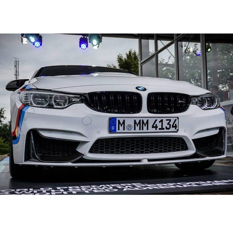 BMW 3シリーズ F80 M3ブラック・キドニー・グリル 左右セット