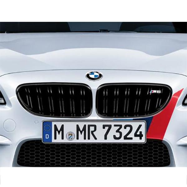 BMW 6シリーズ F06/F12/F13 M6ブラック・キドニー・グリル 左右セット
