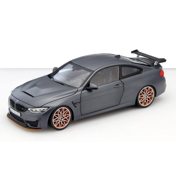 BMW M4 GTS フローズン・グレー1/18サイズ ミニカー ミニチュアカー