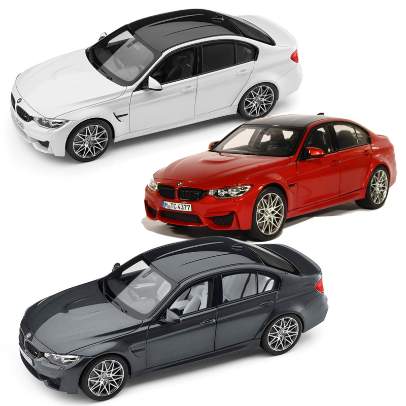 ギフトラッピングも無料で承ります!BMW Lifestyle (BMWライフスタイル) BMW 3シリーズ M3 F80 Competition1/18サイズ ミニカー ミニチュアカー