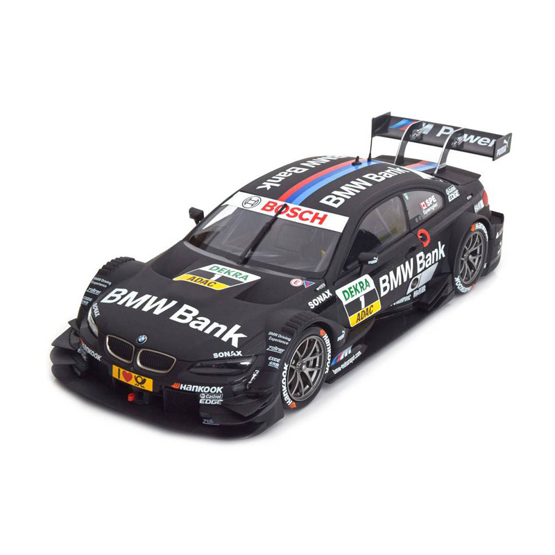 BMW M3 DTM 2013 BMW Bank(ブラック)1/18サイズ ミニカー ミニチュアカー