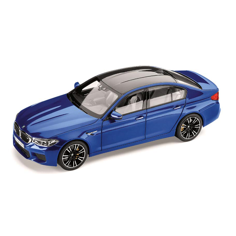 BMW M5 F90 マリナ・ベイ・ブルー1/18サイズ ミニカー ミニチュアカー