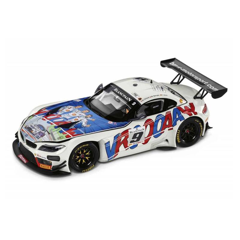 BMW Z4 GT3 Michel Vaillant(ミシェル・ヴァイヨン)1/18サイズ ミニカー ミニチュアカー