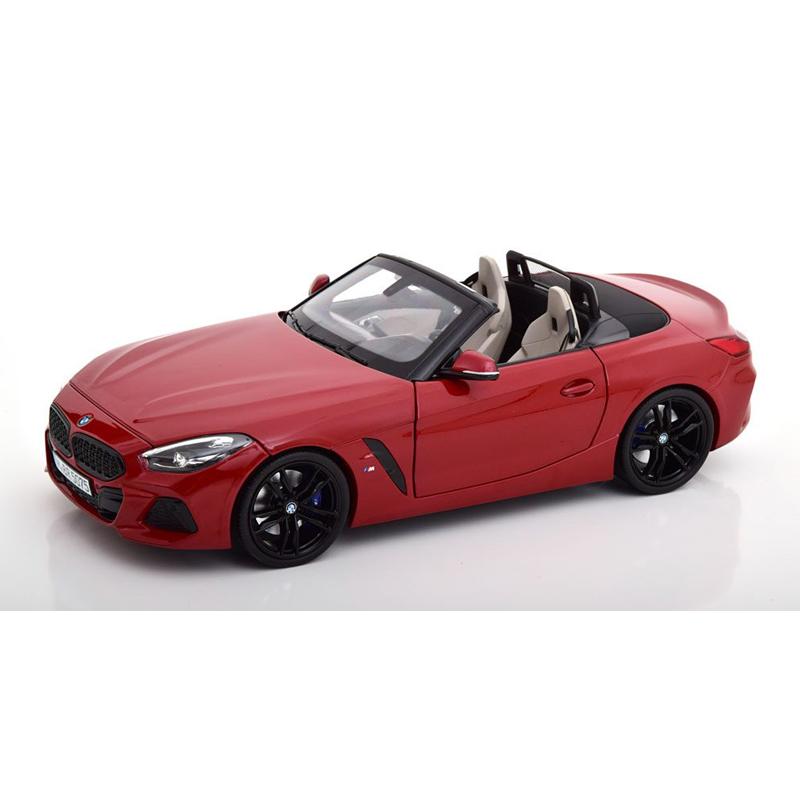 BMW Z4 サンフランシスコ・レッド1/18サイズ ミニカー ミニチュアカー