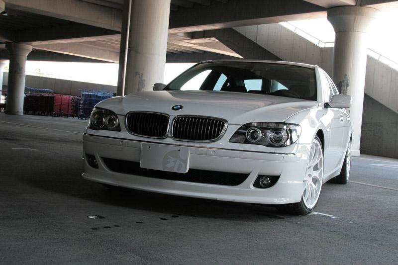 3D Design (3Dデザイン)BMW 7シリーズ E65/E66 後期/LCIフロントリップスポイラー