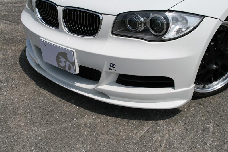 人気ブランド多数対象 BMW 国内送料無料 パーツ 3D Design 3Dデザイン M-Sport E82 1シリーズ フロントリップスポイラー