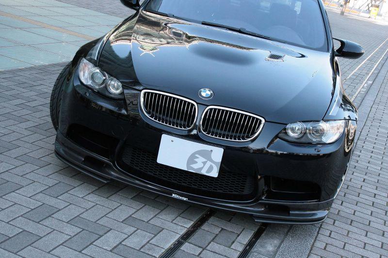 3D Design (3Dデザイン)BMW 3シリーズ E90 M3/E92 M3フロントリップスポイラー単品