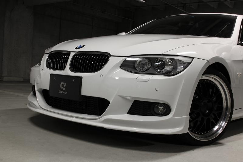 3D Design (3Dデザイン)BMW 3シリーズ E92/E93 M-Sport 後期/LCIフロントリップスポイラー