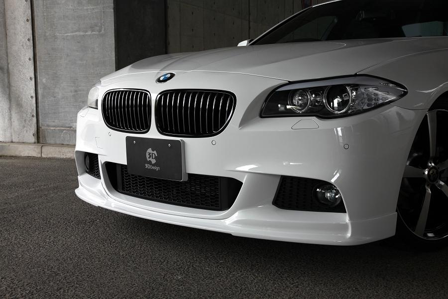 3D Design (3Dデザイン)BMW 5シリーズ F10/F11 M-Sportフロントリップスポイラー