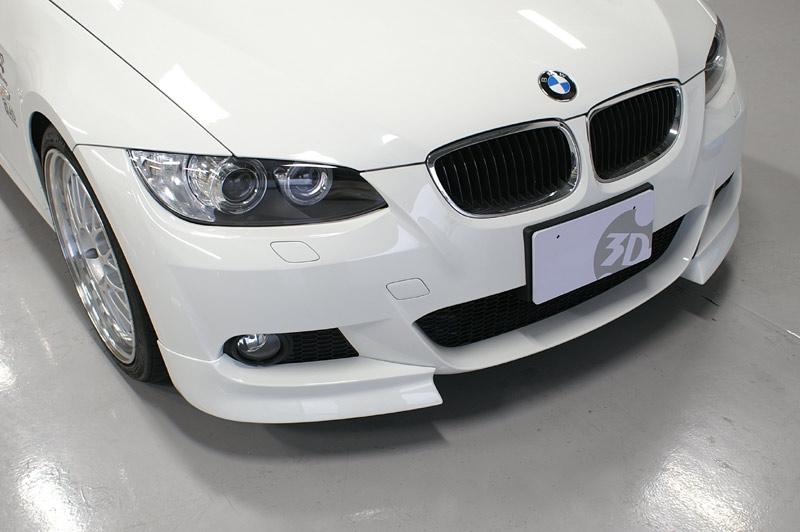 3D Design (3Dデザイン)BMW 3シリーズ E92/E93 M-Sport 前期フロントフリッパー