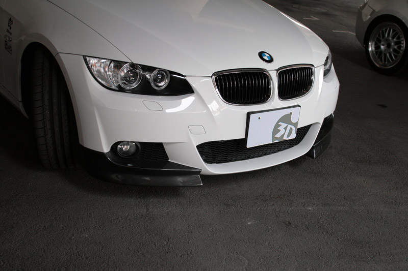 3D Design (3Dデザイン)BMW 3シリーズ E92/E93 M-Sport 前期フロントフリッパー(カーボン)