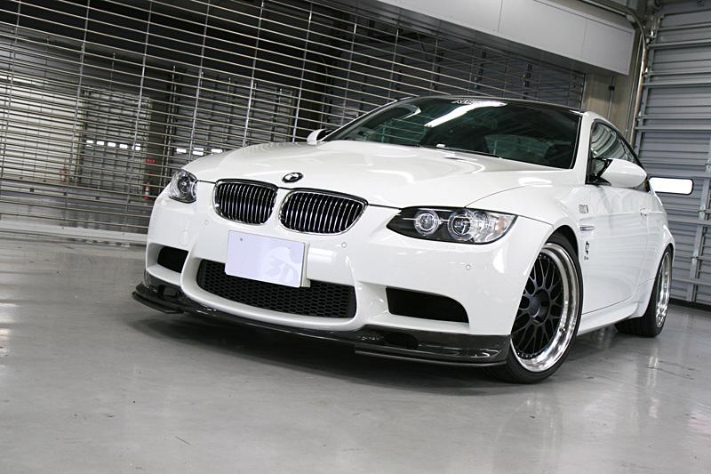 3D Design (3Dデザイン) BMW 3シリーズ E90 M3/E92 M3アンダーフリッパー(カーボンつや消し)