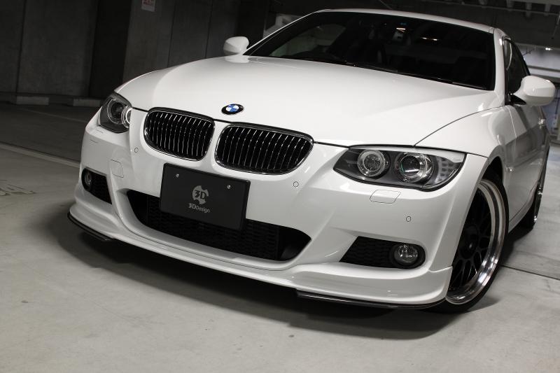 3D Design (3Dデザイン)BMW 3シリーズ E92/E93 M-Sport 後期/LCIアンダーフリッパー
