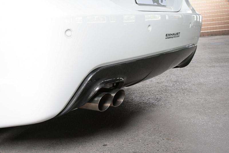 3D Design (3Dデザイン)BMW 5シリーズ E60/E61 M-sportシングルマフラー用 リアディフューザー