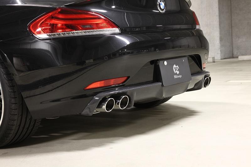 3D Design (3Dデザイン)BMW Z4 E89 リアディフューザー(4テール)