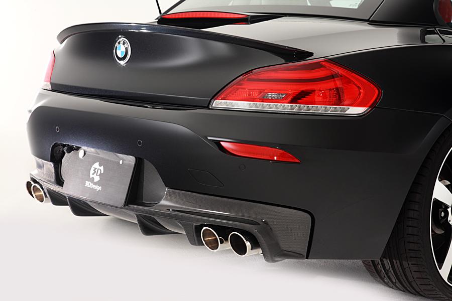 3D Design (3Dデザイン)BMW Z4 E89 M-Sport リアディフューザー