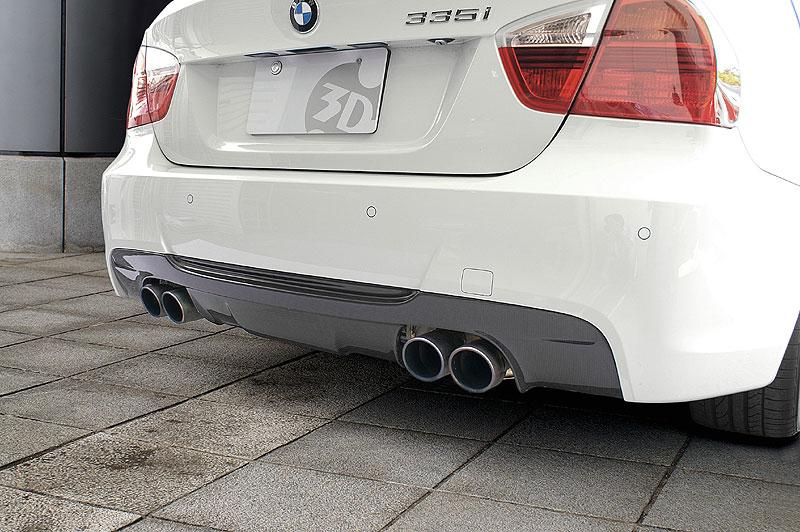 3D Design (3Dデザイン) BMW 3シリーズ E90/E91 M-Sport(335i) 4本テール用リアディフューザー