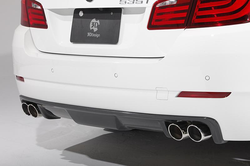 3D Design (3Dデザイン)BMW 5シリーズ F10 リアディフューザー(4テール)