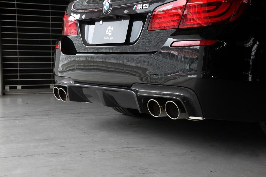3D Design (3Dデザイン)BMW 5シリーズ F10 M5 リアディフューザー