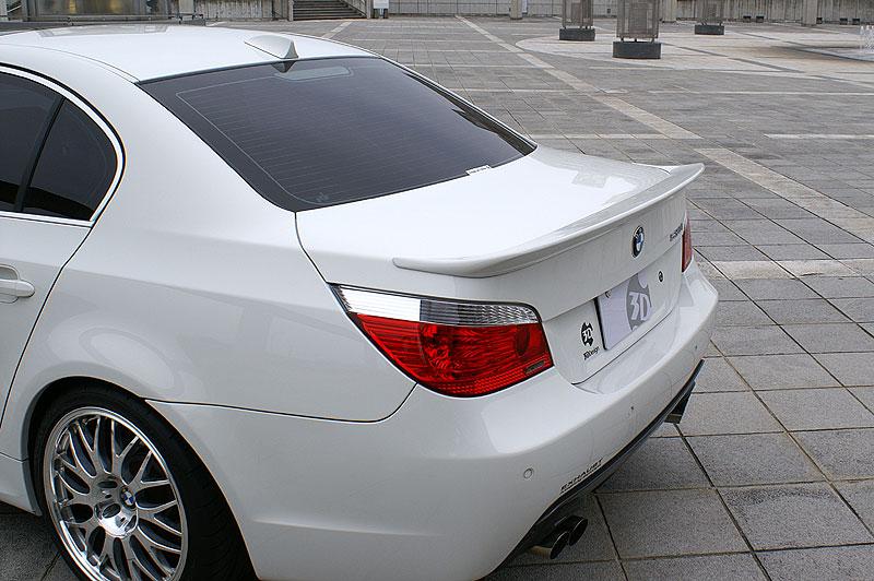 3D Design (3Dデザイン)BMW 5シリーズ E60/E60 M5 トランクスポイラー