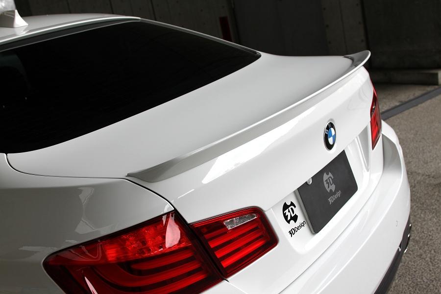 3D Design (3Dデザイン)BMW 5シリーズ F10 トランクスポイラー