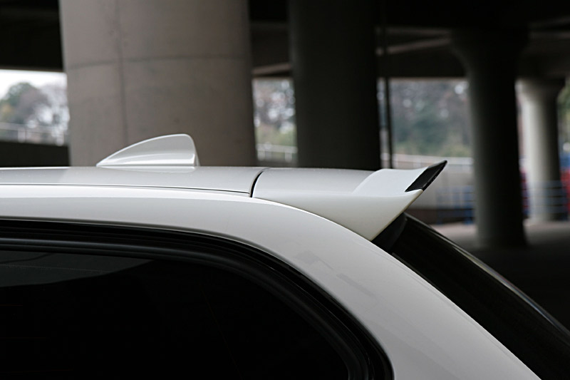 Roof spoilers for 3 BMW series E91