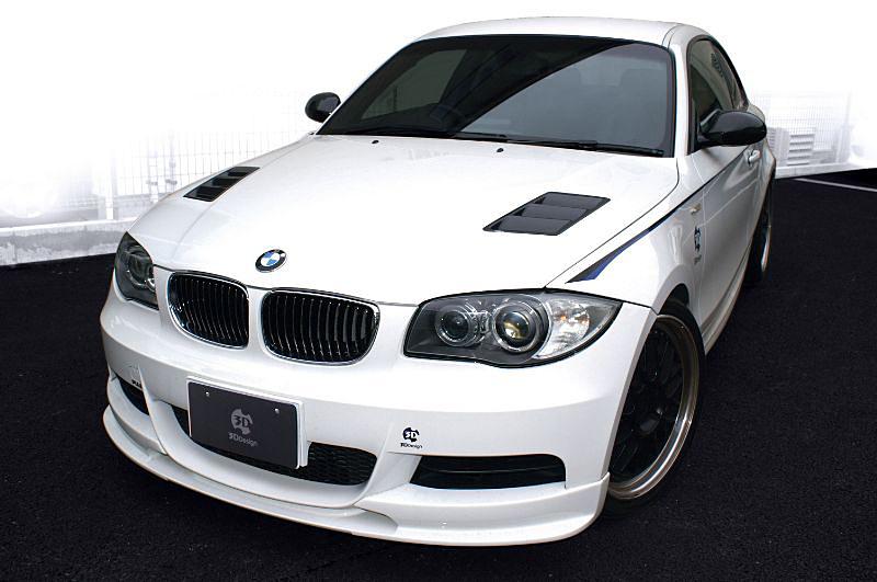 3D Design (3Dデザイン)BMW 1シリーズ E82 フードダクトキット
