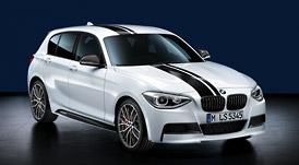 BMW 1シリーズ F20 トップ・ストライプホワイト