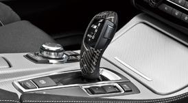 BMW 5シリーズ F10/F11(AT車 2012.3~ 左ハンドル車用)カーボン・セレクター・レバー・グリップ