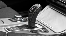 BMW 5シリーズ F10/F11(スポーツAT車用、左右ハンドル共通)カーボン・セレクター・レバー・グリップ