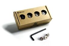 新品未使用 ナンバープレートボルトBMW パーツ 3Dデザイン 16mmセット Designライセンスプレートボルトセット 3D 店