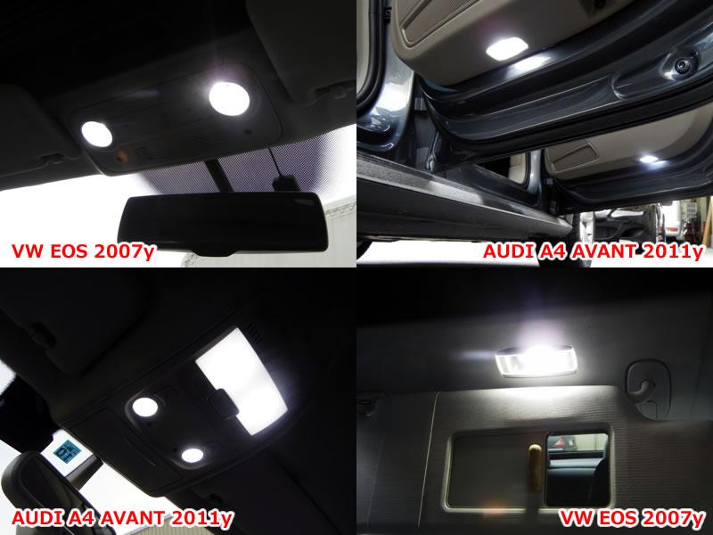 BMW 5 시리즈 투어링 F11 파노라마 썬 루프 자동차 LED 실내 등 1 대 분 세트