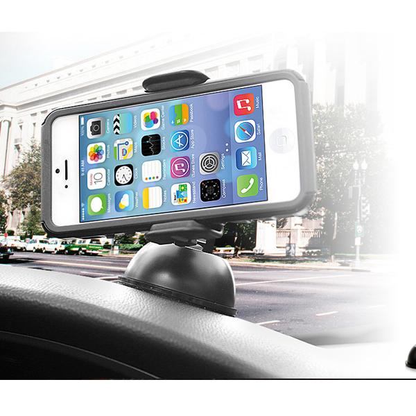 当店在庫限り 車載用スマートフォンスタンド 車載用スマートフォンホルダー EXOGEARエクソギアエクソマウント 激安☆超特価 [並行輸入品] タッチ3.5~5.8インチ対応