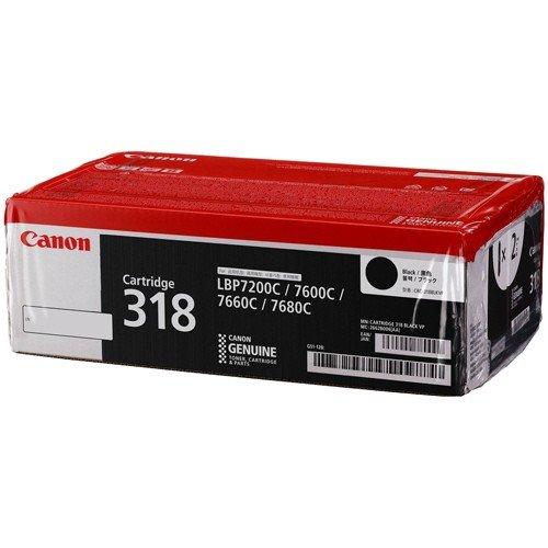 【メーカー純正】 CANON CRG-318BLKVP トナーカートリッジ318BLKVPブラック) ※2本パック ブラック 純正