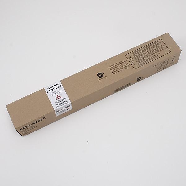 【メーカー純正】 SHARP MX-61JT-MA マゼンタ トナーカートリッジ 純正