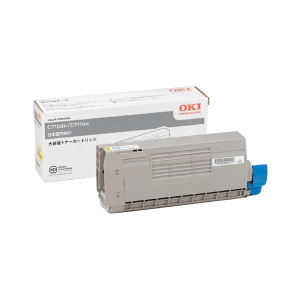 純正トナー 送料無料 一年保証付 品質保証 メーカー純正 OKI トナーカートリッジ TNR-C4GY2 純正 イエロー大容量 限定品