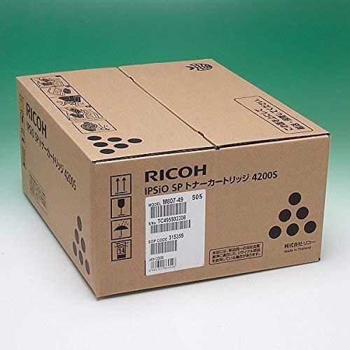 【メーカー純正】 RICOH IPSiO SP トナートナーカートリッジ 4200S 純正