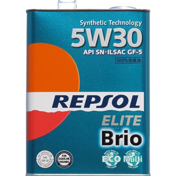 エンジンオイル レプソル エリート ブリオ 5W-30 SN/GF-5 100%合成油 4Lx6 【送料無料】 REPSOL ELITE Brio