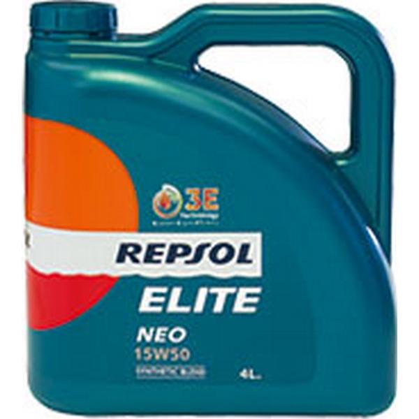 エンジンオイル レプソル エリート ネオ 15W-50 SN/CF 部分合成油 4Lx6 【送料無料】 REPSOL ELITE NEO