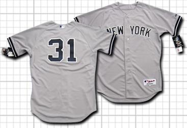 【即納可能】 ニューヨーク・ヤンキース #31 イチロー Authentic・アルタネート・ジャージ【送料無料】