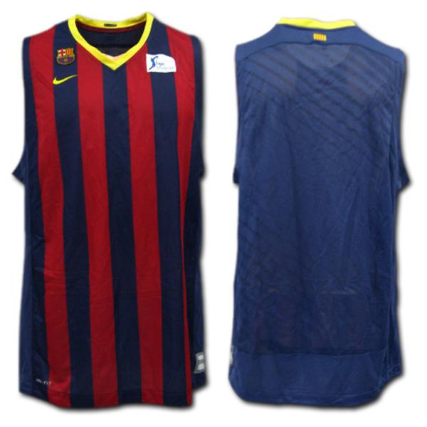 10c5c1633f6 O.K.A.Football: FC Barcelona basketball jersey top and bottom set ...