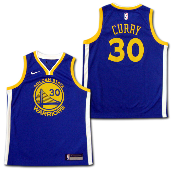 new style 83e18 b9d8b Throw away #30 for the NBA 17/18 Golden State Warriors child; phone curry  swing man jersey adidas