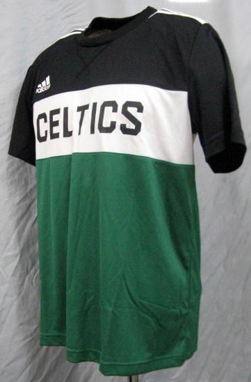 new styles 74f5b 58515  Boston Celtics CELTICS training (black / green) adidas