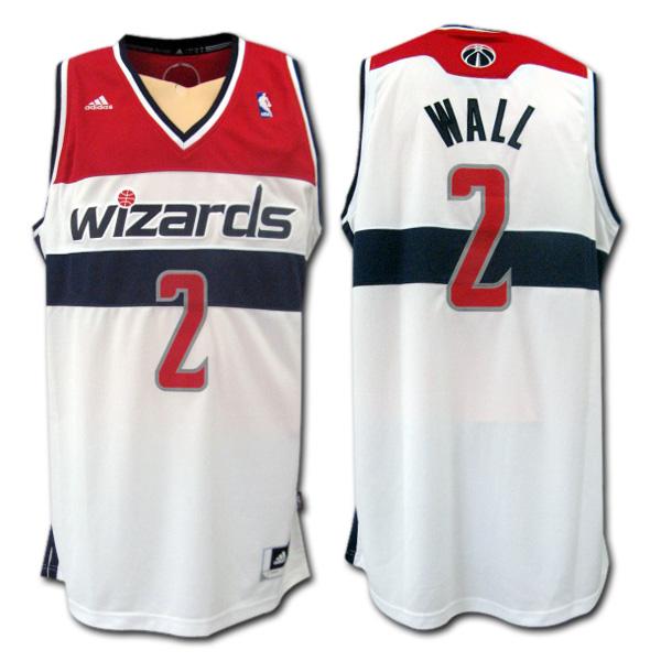 【メール便送料無料】【NBA】ワシントン・ウィザーズ  wizards #2 WALL ジョン・ウォール SWINGMANジャージ adidas