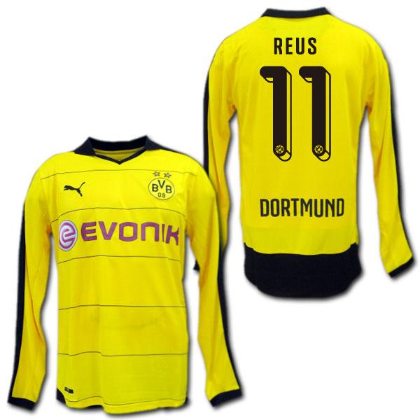 O.K.A.Football | Rakuten Global Market: Borussia Dortmund 15/16 home ...