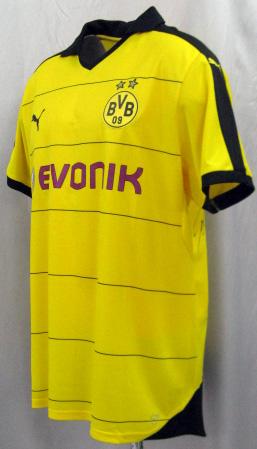 Product made in Borussia Dortmund 15/16 home (yellow) #17 AUBAMEYANG オーバメヤン PUMA
