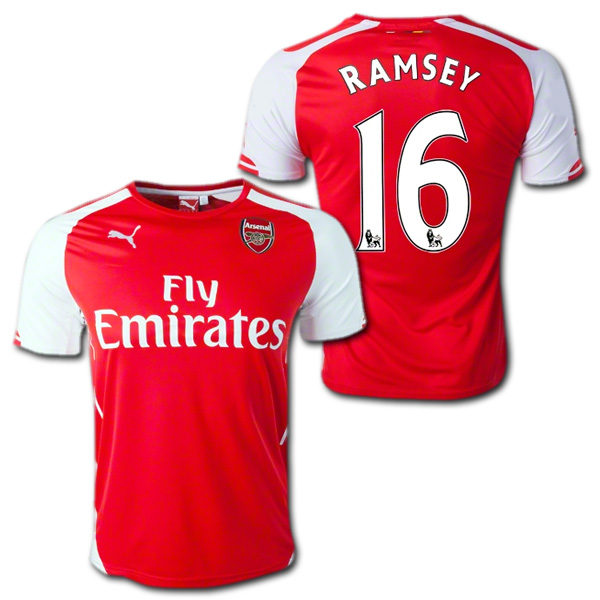 353bdd01cb1 O.K.A.Football  Arsenal 14   15 (red)   16 RAMSEY Aaron-Ramsey PUMA ...
