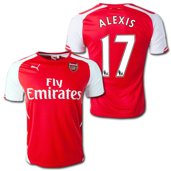 huge selection of 85aa4 84fe5 Arsenal 14 / 15 (red) # 17 ALEXIS Alexis-Sanchez PUMA steel